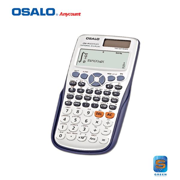 Prix pour OS-991ES Super Qualité École Étudiant Fonction Calculatrice Scientifique Calculatrice Multifonctionnel Contre Calcul Machinelator