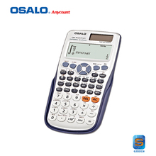 OS-991ES Calidad Estupenda Función Escuela Estudiante Scientific Calculator Calculadora Multifuncional Contador Cálculo Machinelator
