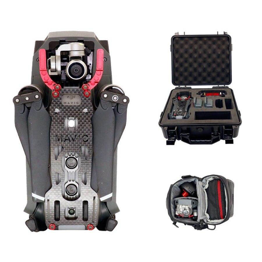 цена на JMT Gimbal Guard 3K Carbon Fiber Protective Module Gimbal Protector for DJI MAVIC PRO Drone Helicopter Accessory