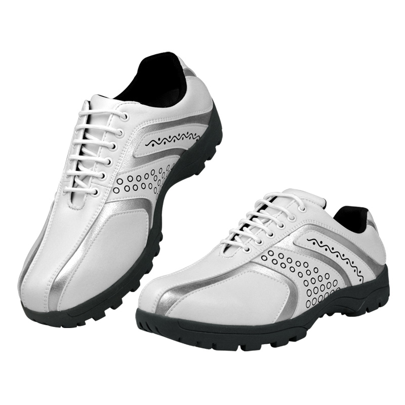 Adult Mens Golf Shoes Waterproof Breathable Steady Training Sneakers Man Leather Anti Slip Golf Shoes Professional