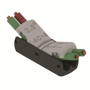 Image 4 - JOWX 4C 4 10 قطعة 14 13AWG 2.5sqmm 4 أسلاك ربط غير جردت تمديد سلك كابل موصلات سريعة لصق محطات كتلة