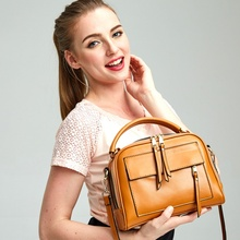 Vento Marea Real Leather Women Cowhide Shoulder Bag Tassel Solid Color CrossBody Totes Soft Satchels Handbags 2019 Black/Brown