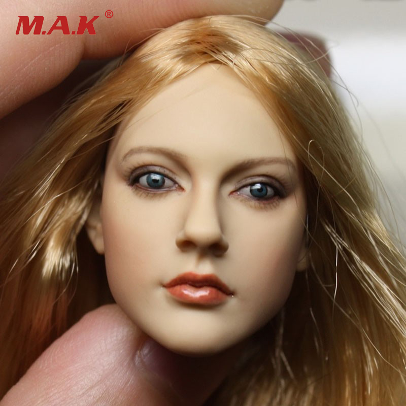 1/6 Scale Head Sculpt Headplay Head Carving Model Female CY Girl For 12 inches KUMIK Action Figure mak custom 1 6 scale hugh jackman head sculpt wolverine male headplay model fit 12kumik body figures