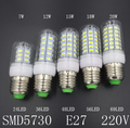 SMD 5730 E27 E14 LED Lamp 220V 230V 240V 7W 12W 15W 18W 20W LED Lights Corn Led Bulb Christmas Chandelier Candle Lighting