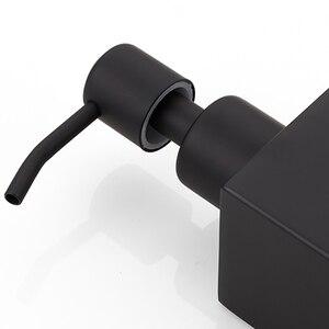 Image 5 - Gtbl新ステンレス鋼手作り黒液体石鹸ディスペンサー浴室付属品キッチンウェア便利な現代の
