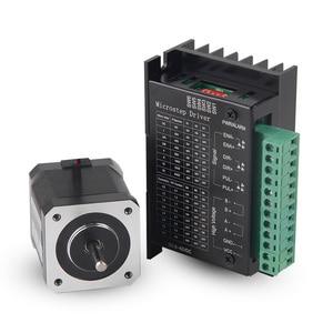 Nema17 cnc Stepper Motor 42BYG34 1.5A Drive 0.28Nm TB6600 for DIY milling machine 3D printer router machine repair parts(China)