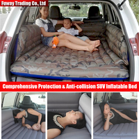 Comprehensive Protection Anti Collision Car Air Inflation Mattress Bed Auto Back Seat Cover Drive Travel With
