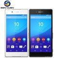 Original sony xperia z3 + z3 plus teléfono móvil sony z4 e6553 celular teléfono WIFI GPS 3G & 4G 20.7MP 3 GB RAM 32 GB ROM teléfono celular Z4
