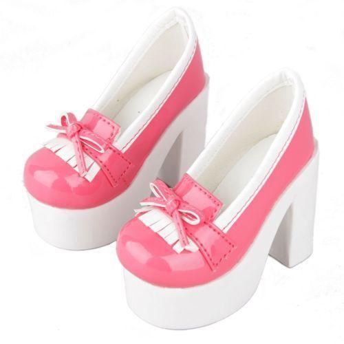 Wamami  55   rosa 1 4 msd dod bjd dollfie tacchi alti scarpe di cuoio  synthenic 72cb76e2bf9