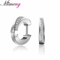 Indirect Sterling Silver S925 Jewelry Hot Korean Style Earrings Starry AAA Grade Quality Stud Earrings Christmas
