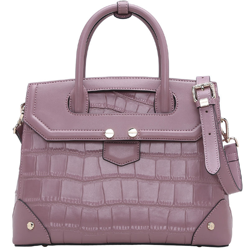 цены Fashion new crocodile pattern Calfskin women leather handbags female bag wild temperament women shoulder Messenger bag