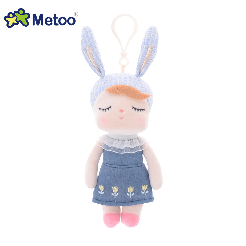 Mini Kawaii Plush Stuffed Animal Cartoon Kids Toys for Girls Children Baby Birthday Christmas Gift Angela Rabbit Metoo Doll 13 inch kawaii plush soft stuffed animals baby kids toys for girls children birthday christmas gift angela rabbit metoo doll