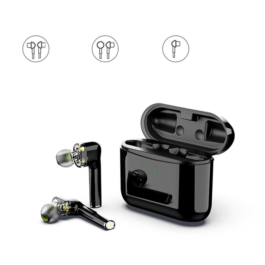 Casque sans fil bluetooth TWS Bluetooth 5.0 haute qualité sonore véritable sans fil dans l'oreille sport en cours d'exécution casque écouteur