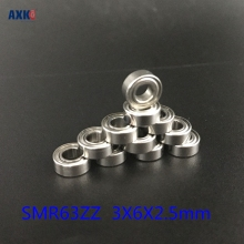 цены Free Shipping 4PCS  3x6x2.5  Metal Shields Bearings  ABEC-7 Stainless Steel  SMR63 ZZ