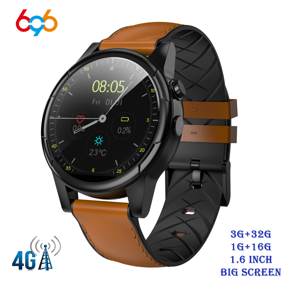 X360 Smart Watch 1+16GB/3+32GB 1.6 Round WiFi GPS Sim Card 4G Android Smartwatch Phone Sports Heart Rate Monitor CameraX360 Smart Watch 1+16GB/3+32GB 1.6 Round WiFi GPS Sim Card 4G Android Smartwatch Phone Sports Heart Rate Monitor Camera