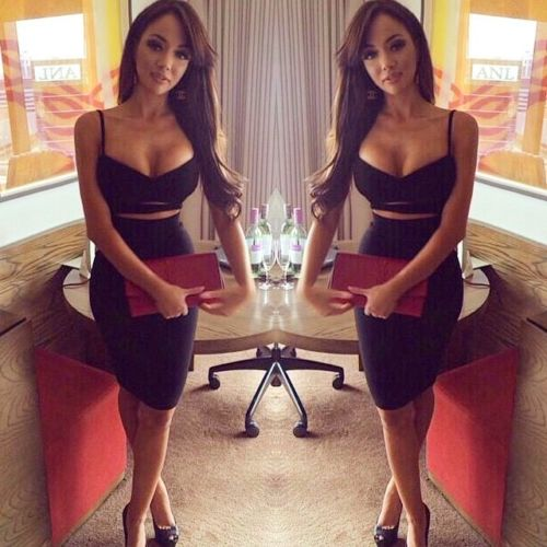 Hot Sexy Women Summer Slim Bodycon Hollow Out Skinny Sleeveless Evening Party Club Solid Strappy V-Neck Short Mini Dress