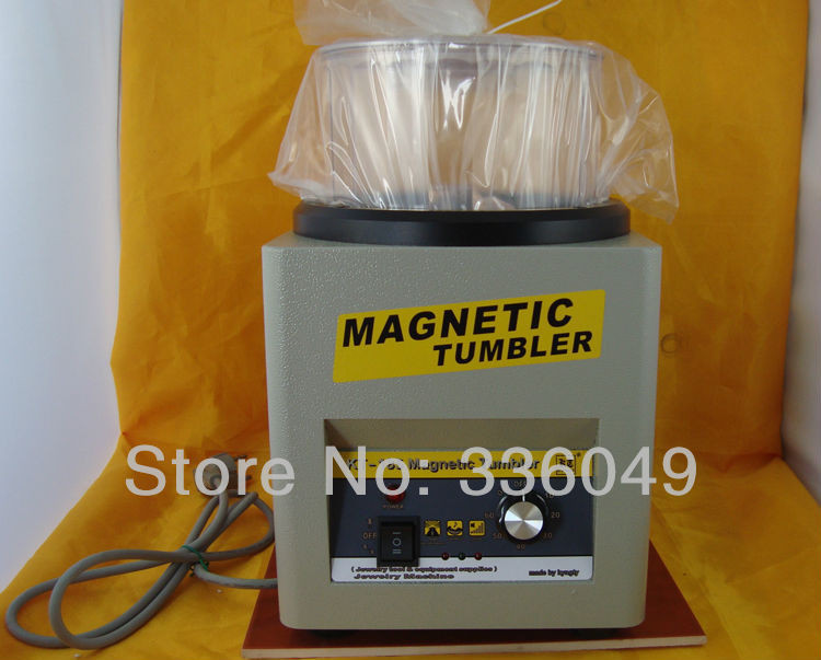 KT185 Electro Magnetic Polishing Machine,suitable for platinum polishing and stainless steel deburring,Jewelry Making Supplies