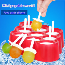 MINI Popsicle Mold Silicone Ice Cream 9 Mini One Cube Maker  Makers