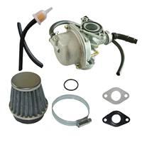 19mm PZ Carburetor Air Filter Carburetor Gasket Fit 70cc 90cc ATV Pit Dirt Bike