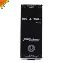 AROMA APW-3 9V Guitar Pedal Power Supply Built-in Rechargable 1800mah Lithium Battery Voltage Protection Free Shipping