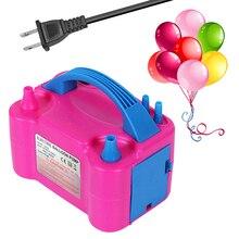 220V 240V Elektrische High Power Zwei Düse Luft Gebläse Ballon Inflator Pumpe Schnelle Portable Aufblasbare Werkzeug