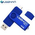 LEIZHAN USB Flash Drive 16 ГБ флешки OTG Смартфон 4 ГБ Flash Drive 16 ГБ cle usb 32 ГБ USB Flash Drive USB ФЛЭШ-Накопитель 64 ГБ