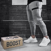 2018 new high quality, thick trousers men's fitness pants for the fitness winter clothing sweat pants underwear