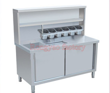 food fruit storage preservation work bench refrigerate for Western food shop cake font b tea b