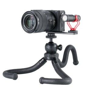 Image 4 - Ulanzi PT 5 Vlogging Mikrofon Halterung Ständer Verlängerung Bar Platte mit Kalten Shoe1/4  20 Stativ Loch für sony A6400 Video Vloggers