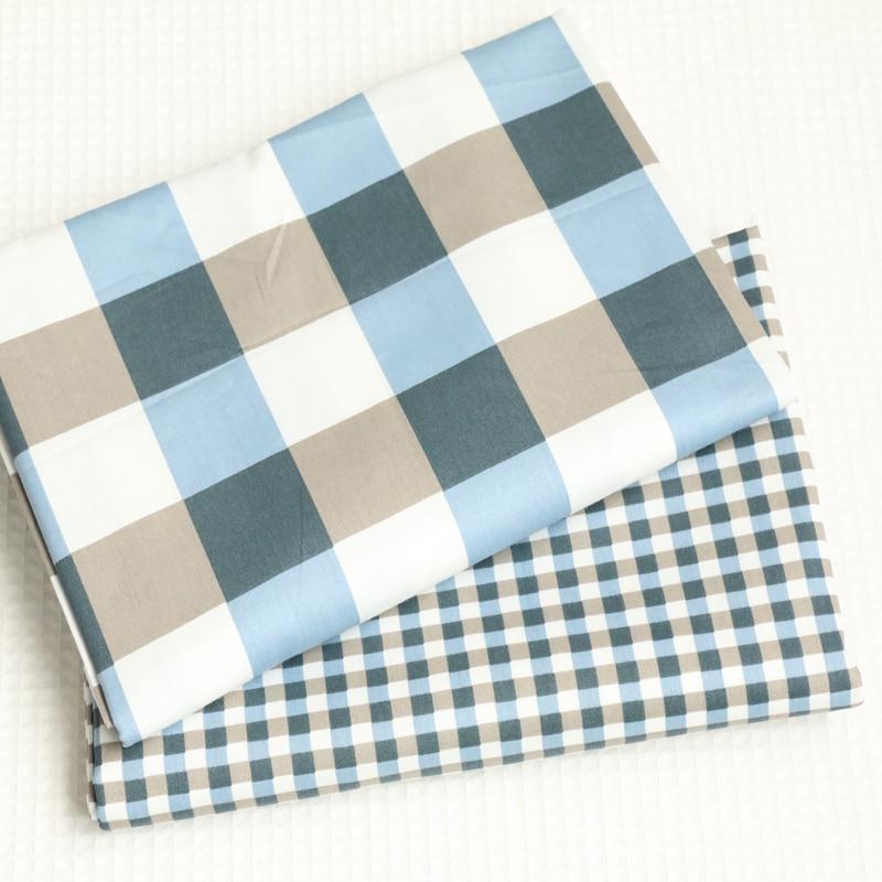 100x160 cm Tela de algodón de impresión de tela escocesa clásica - Artes, artesanía y costura