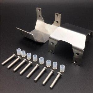 Image 2 - Полный комплект, металлические бронированные пластины, защитные наборы для 1/10 Gmade GOM GR01 RC Car OP Refit детали