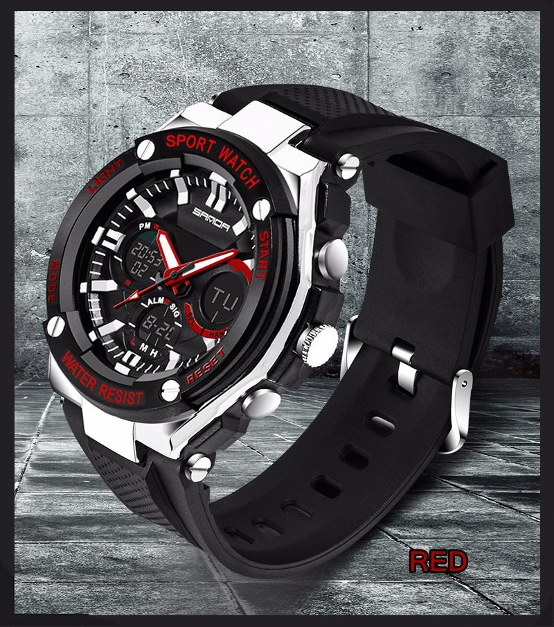 Men Sport Watch Waterproof Top Brand Luxury Military Watch LED Digital Quartz Wristwatch Relogio Masculino Reloj Hombre 2019 733 21