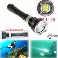 Nova Tocha 3800Lm Super T6 5 Modos de LED Subaquática de Mergulho Lanterna Luzes Lâmpadas Tocha Lanterna À Prova D' Água Para O Mergulho