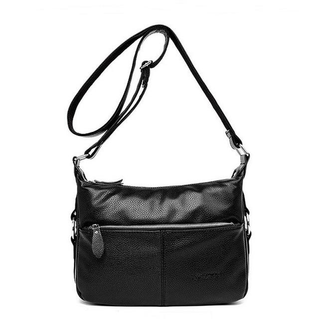 bde2706e4a1a New Brand designer women bag soft leather fringe crossbody bag women  messenger bags candy color shoulder bags bolsos JIE-0119