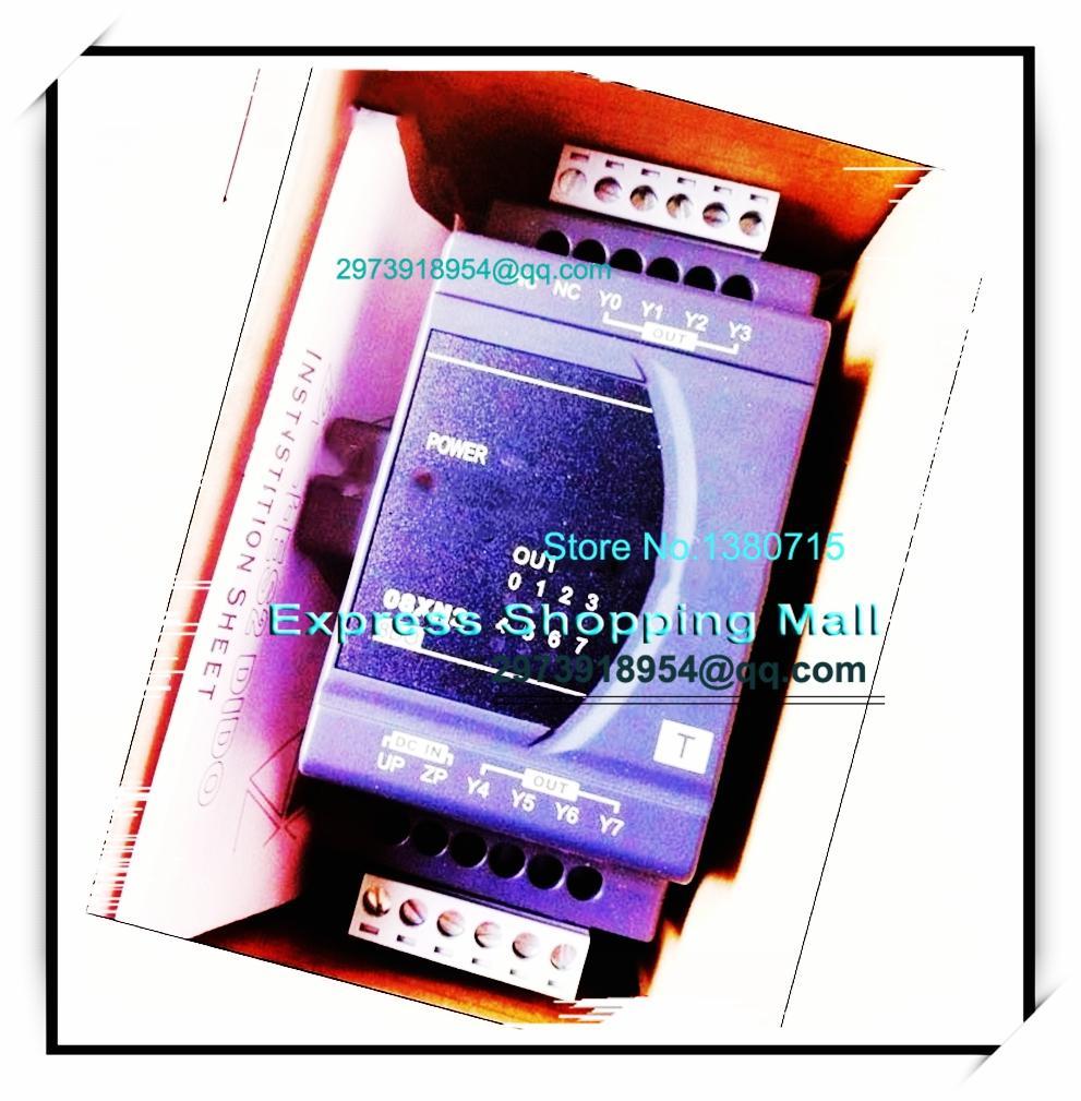 New Original DVP08XN211T Delta PLC Digital module ES2 series 8DO Transistor output new original dvp16xm11n delta plc 16di digital module