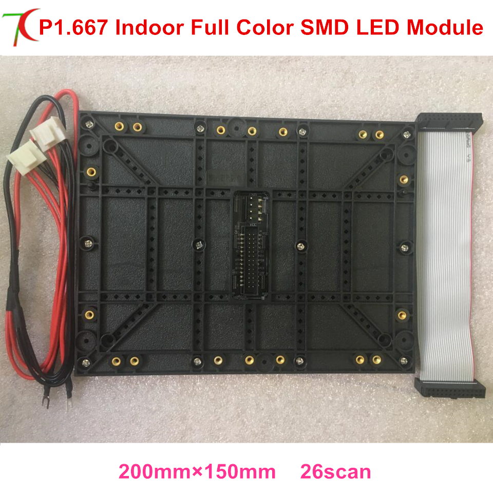 P1.6/p1.667 Ultra Smallest Pixels 4k Full Color Led Module For High Defination Led Video Wall Led Screen Display