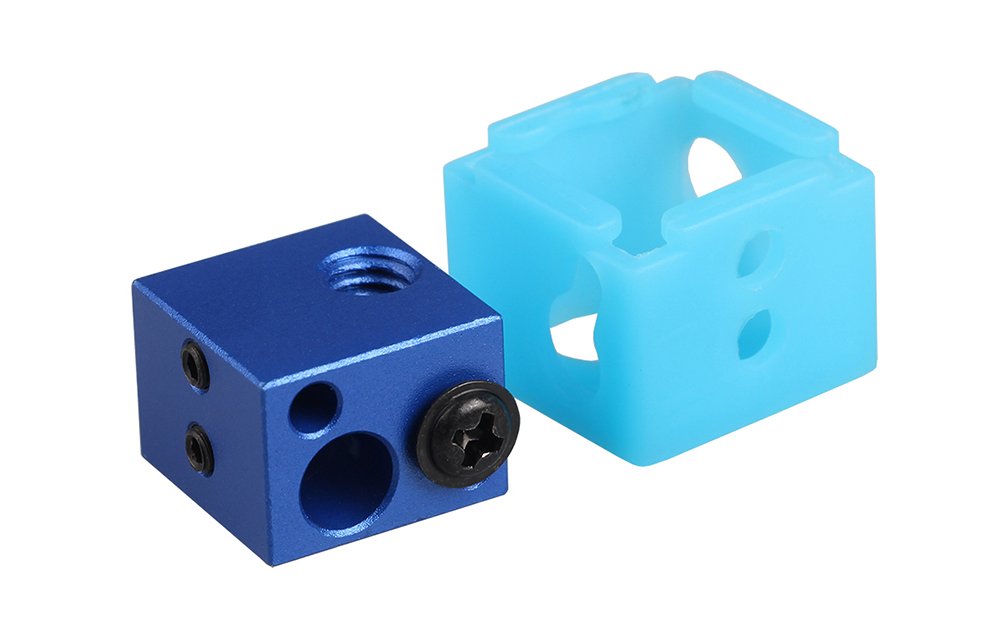 Cube Heat block+Silicone sock_7ms