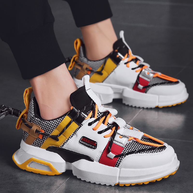 Новая мужская повседневная обувь из сетчатого материала легкая мужская обувь удобные дышащие кроссовки для ходьбы теннисные кроссовки Feminino Zapatos