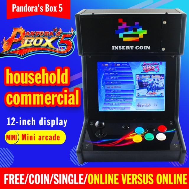 Pandora Box5 Mini Mesa Arcade Con Juegos Clasicos 960 En 1 Pcb Mini