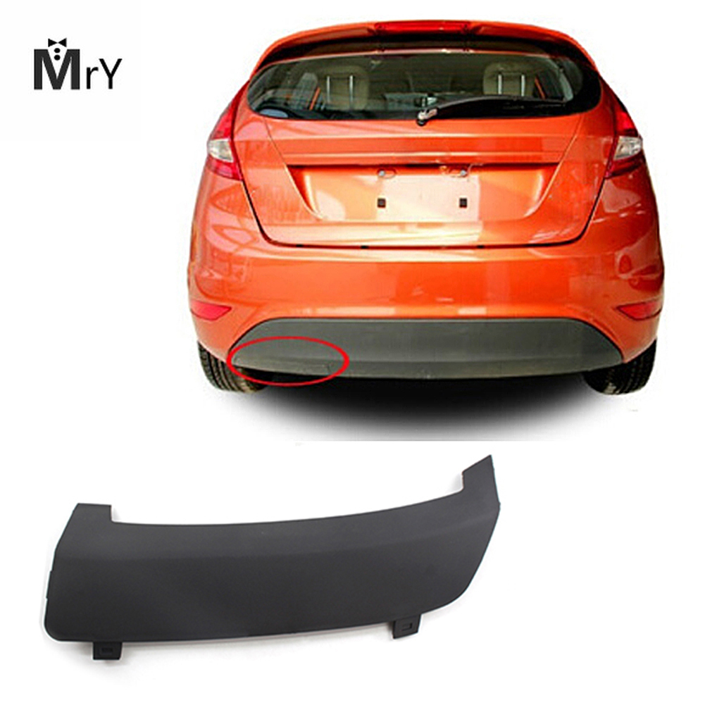 1pc 1531833 /8A61-17K922-AB5ZCT Rear Bumper Tow Towing Eye Hook Cover Cap For Ford Fiesta MK7 2008-2016