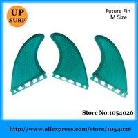 גלישה ספורט מים Quilhas סנפירי G5 עתיד ירוק/כחול סיב חלת דבש סנפירי לוח לגלוש סנפירי עתיד