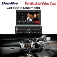 Liandlee 2din автомобиля Android gps Android навигации для Mitsubishi Pajero Sport 2008 ~ 2013 navi карты CD DVD плейер Радио HD OBD2