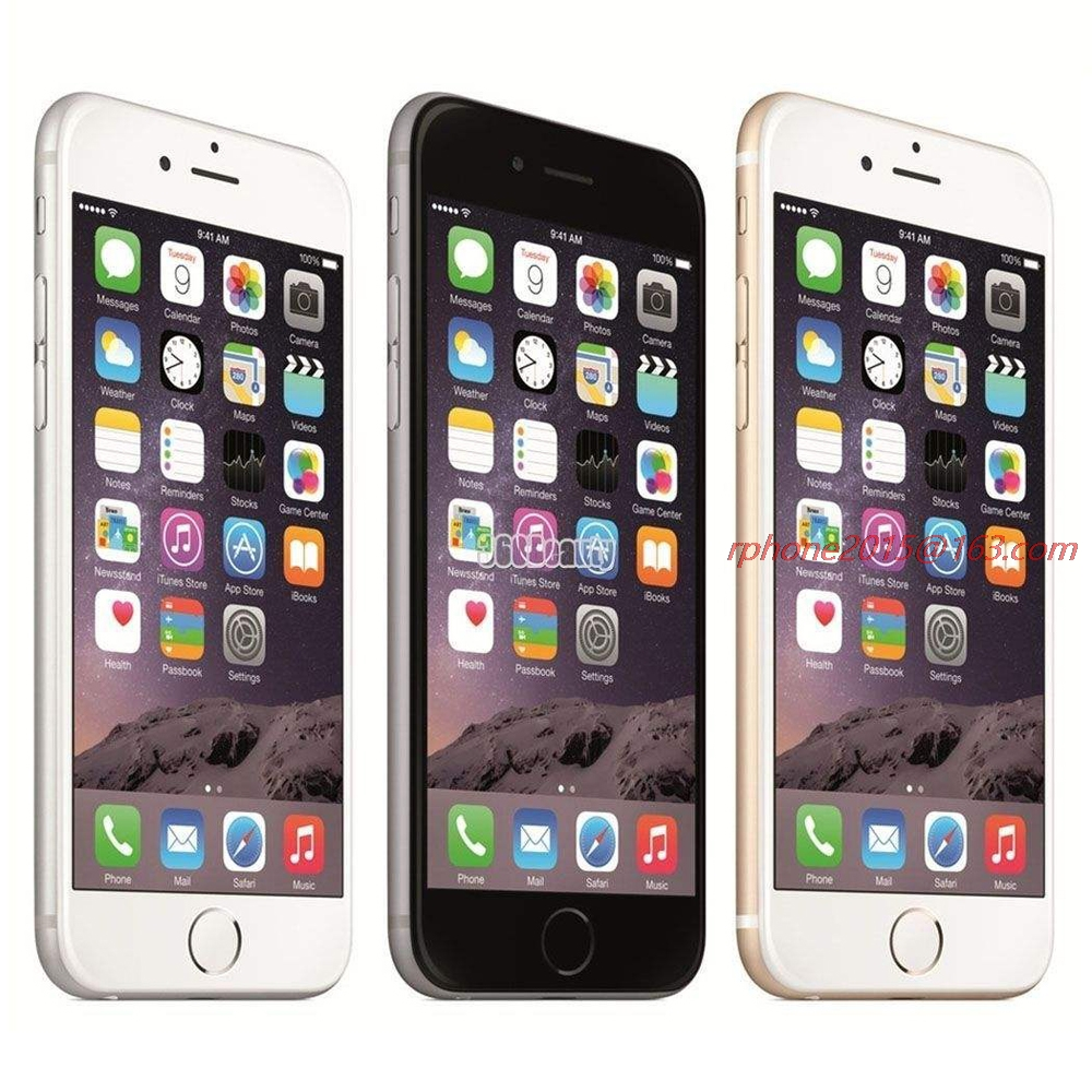 Apple iPhone 6 Plus Original 16gb Nfc Fingerprint Recognition 8MP Used 4G Camera IOS title=
