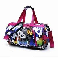 Women Camouflage Gym Bag Men Travel Bag Dry And Wet Separation Swimming Bag Large Capacity Sport Bag Waterproof Oxford Handbag
