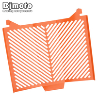 BJMOTO Aluminum Motorcycle Radiator Guard Protector Grille Grill Cover For KTM 1290 Super Duke R 2013
