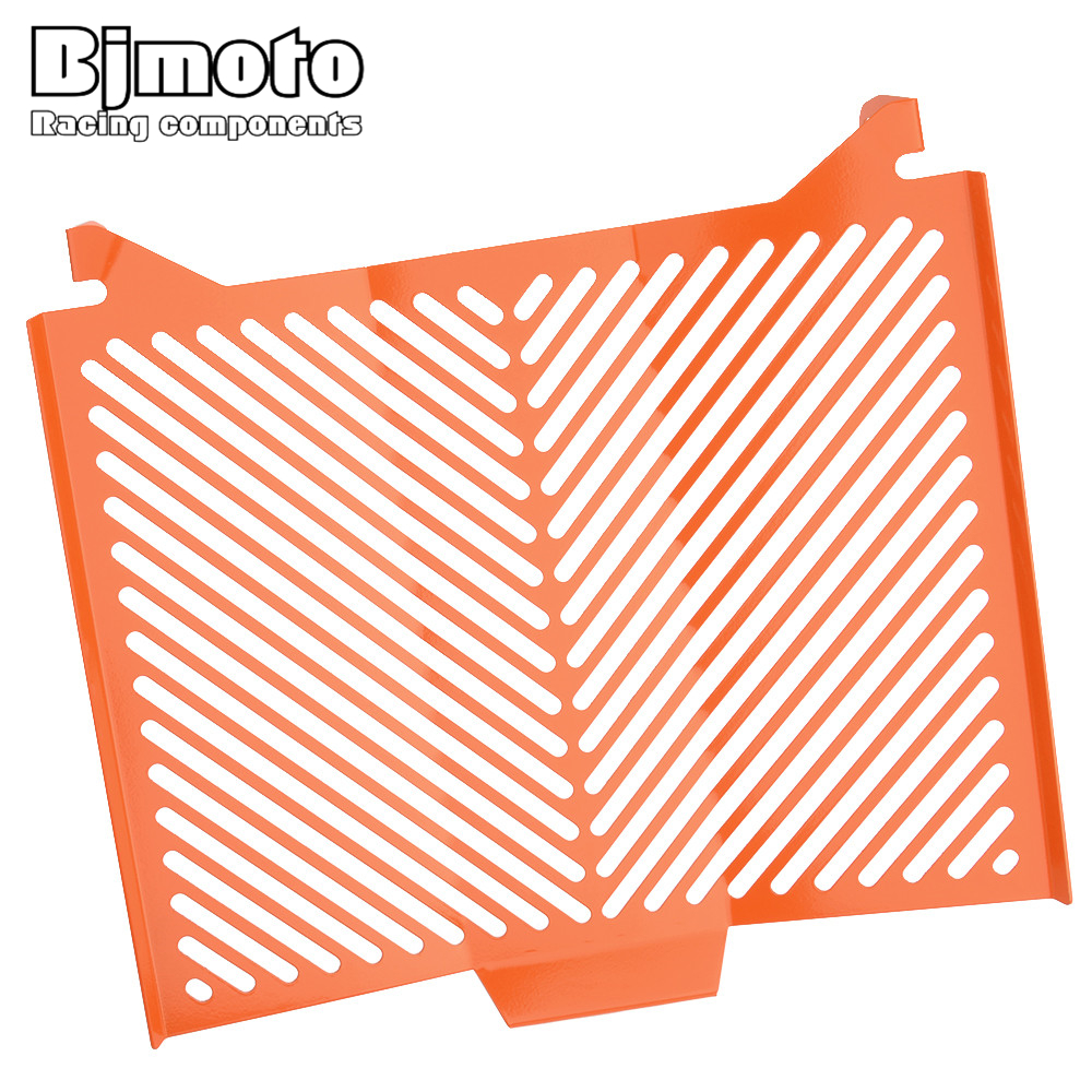 BJMOTO Aluminum Motorcycle Radiator Guard Protector Grille Grill Cover For KTM 1290 Super Duke R 2013-2017 arashi motorcycle radiator grille protective cover grill guard protector for 2008 2009 2010 2011 honda cbr1000rr cbr 1000 rr