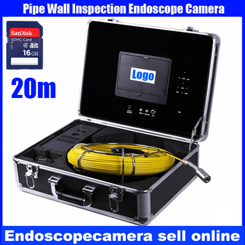 20M Cable industrial endoscope underwater video system pipe wall inspection system Sewer Camera DVR waterproof HD 700TVL ennio sy7000d 15m ip68 hd underwater video camera system