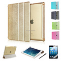 Top Quality Luxury Fashion Business Intelligent Sleep Flip Pu Leather Cases Smart Cover Stand For Ipad 2 3 4 air 1 2