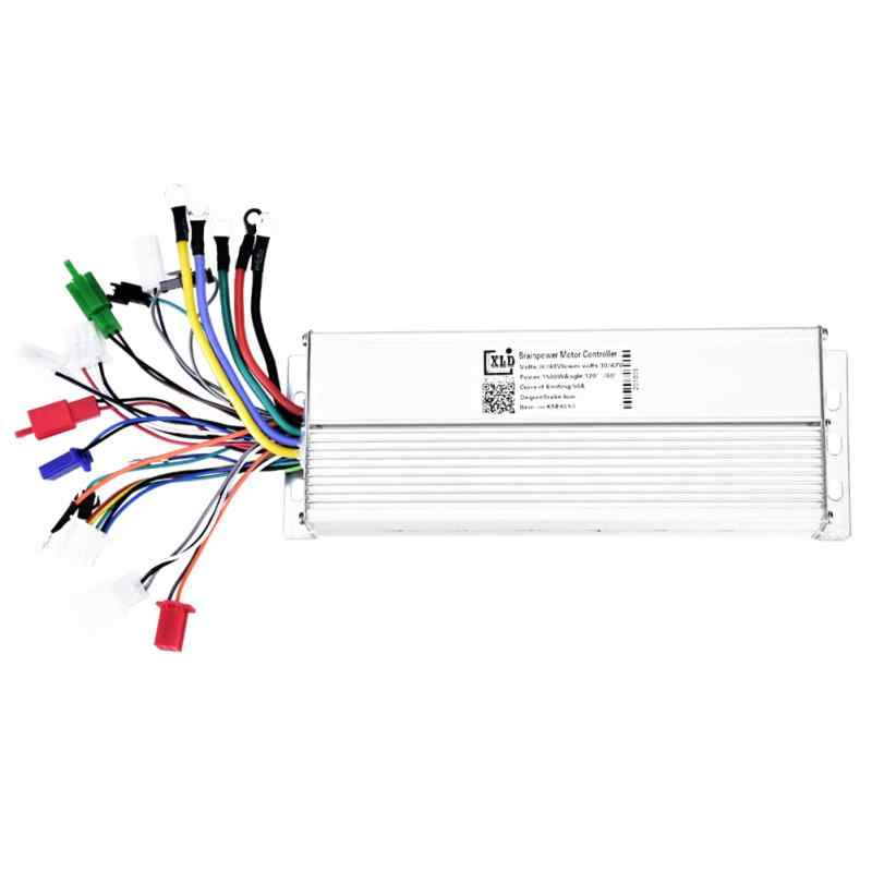 Electric Bicycle Controller 36V/48V 1500W 18 Tube Brushless Electric Bike Controller for Electric Bicycle Scooter