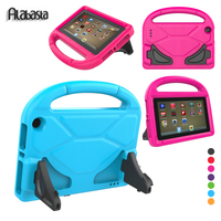 Alabasta Children Kids Safe Football Stand Case For Amazon Fire HD 8 2016 2017 Genearl EVA